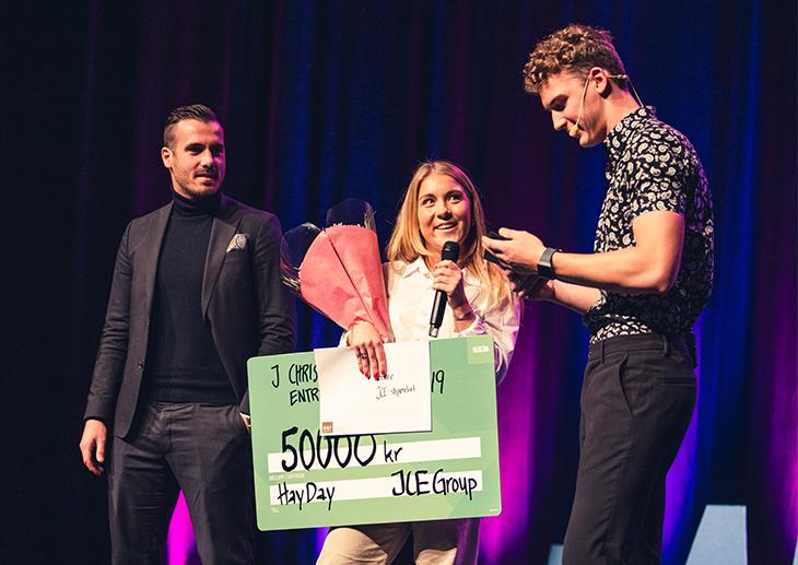J Christer Ericssons Entreprenörspris UF Göteborg vinnare HayDay