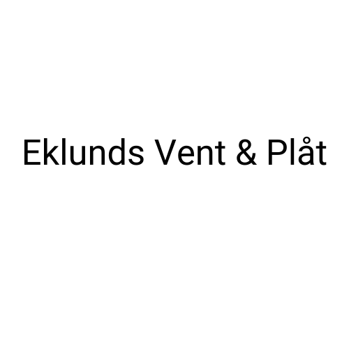 Eklunds Vent & Plåt