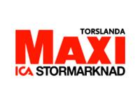 Ica Maxi Torslanda logo promotor UF Göteborg
